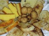 Pasiego bread, sobaos, butter cookies and homemade bread with seeds, and dry fruit.
